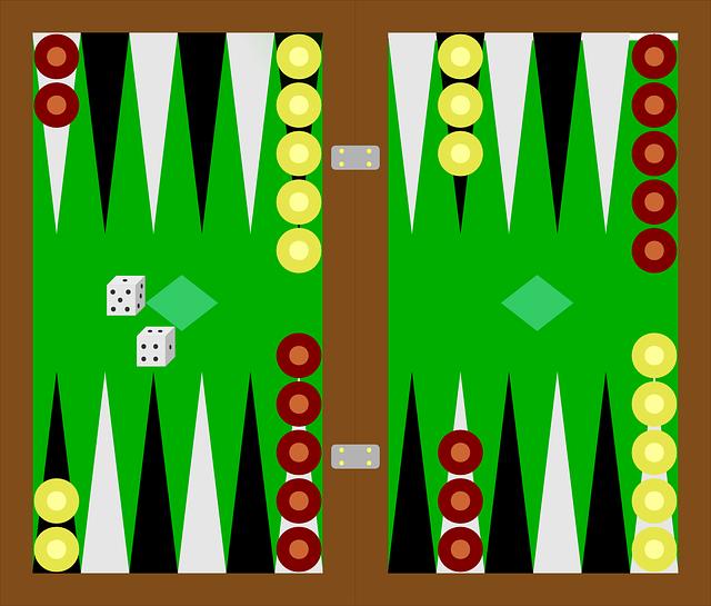 Sådan spiller man Backgammon